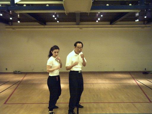 Sifu Ted Wong, Gina